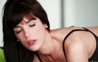 Lewd latin hottie Carol Vega bends over for some hardcore act