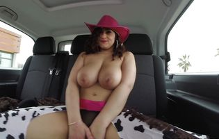 Inviting latin Sarah with large breasts is always ready for some interesting ramming