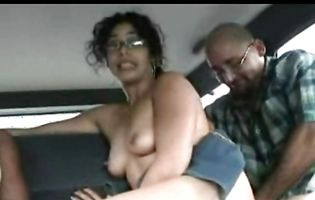 Wonderful woman swallows a giant cock like a pro